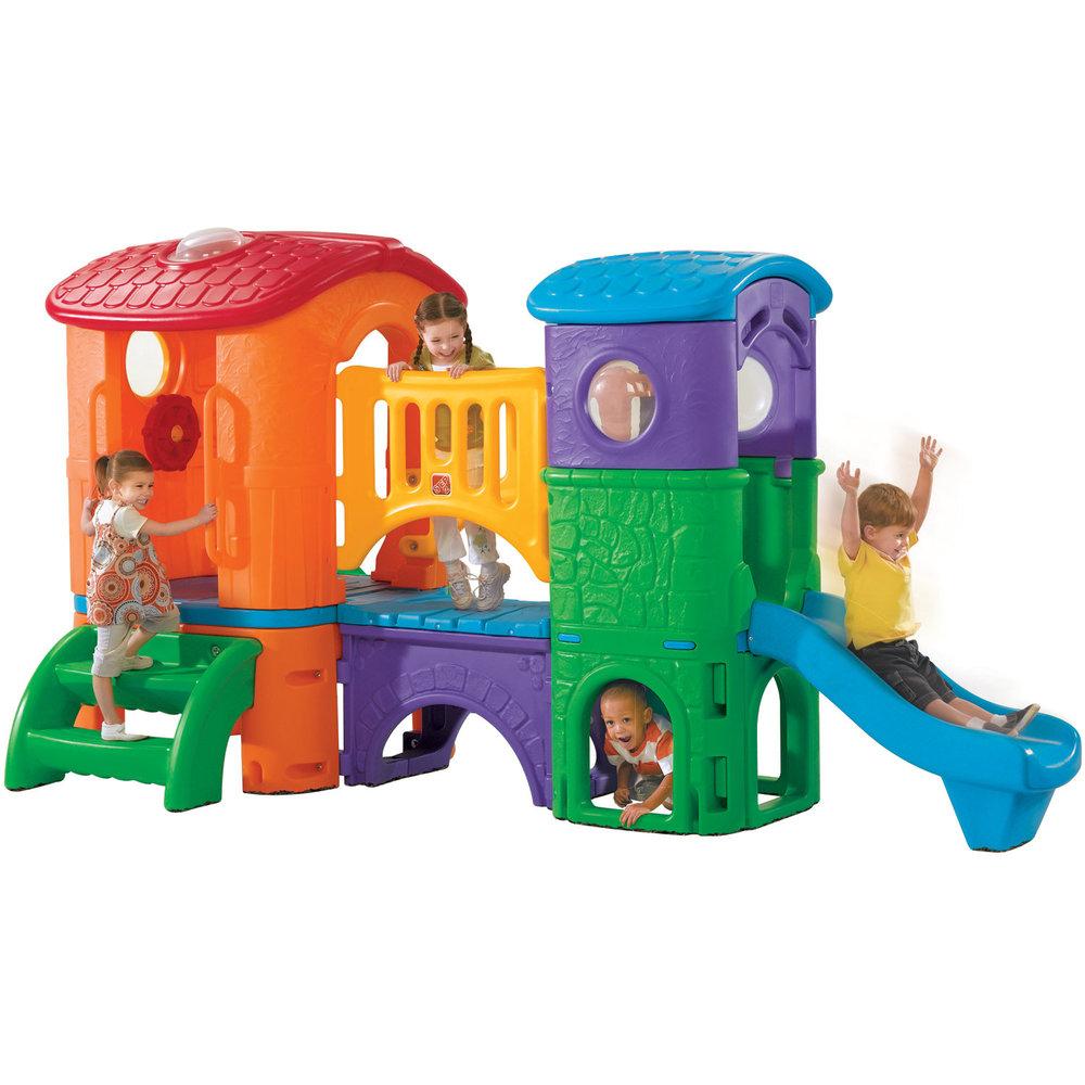 Игровой центр - Корабль-2Пластиковые домики для дачи<br>Игровой центр - Корабль-2<br>