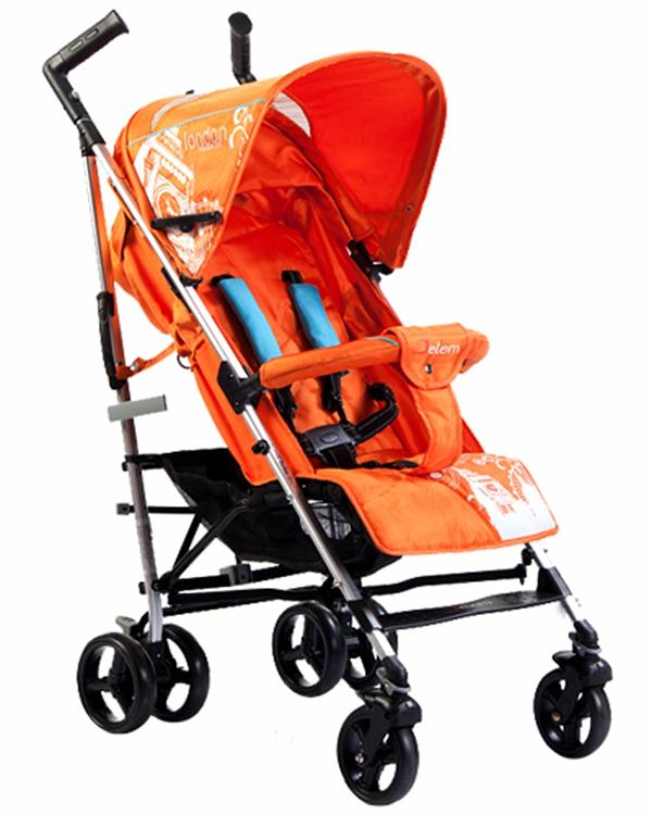 Коляска-трость London, OrangeДетские коляски-трости<br>Коляска-трость London, Orange<br>