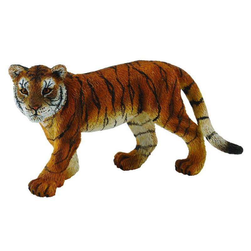 Фигурка Gulliver Collecta - Детеныш сибирского тигра, MДикая природа (Wildlife)<br>Фигурка Gulliver Collecta - Детеныш сибирского тигра, M<br>