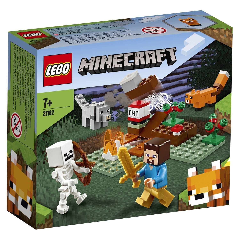 Конструктор Lego Minecraft Приключения в тайге
