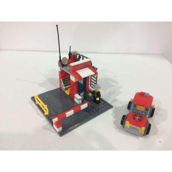 Купить Конструктор – Пожарная станция, 165 деталей, Город мастеров