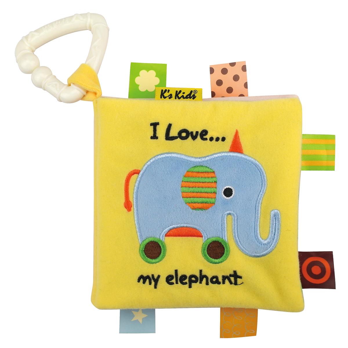 Купить Книжка-игрушка - Первые слова, K's Kids
