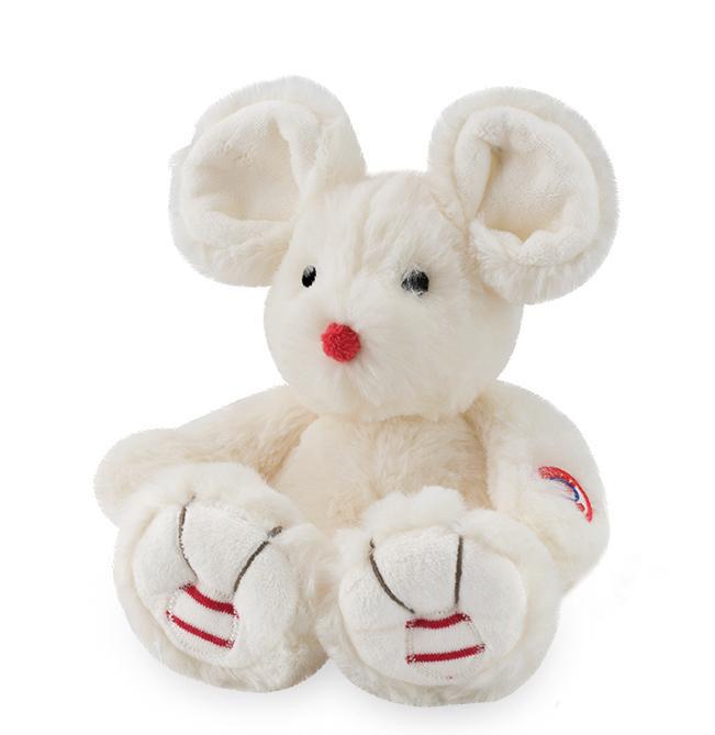 Купить Мягкая игрушка из серии Руж - Мышка маленькая, цвет Крем, 19 см., Kaloo
