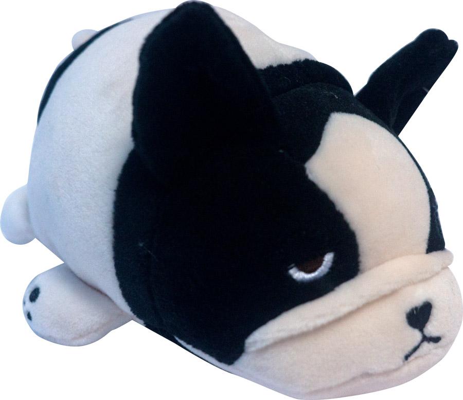 Купить Мягкая игрушка - Собачка розовая с черным, 13 см, ABtoys