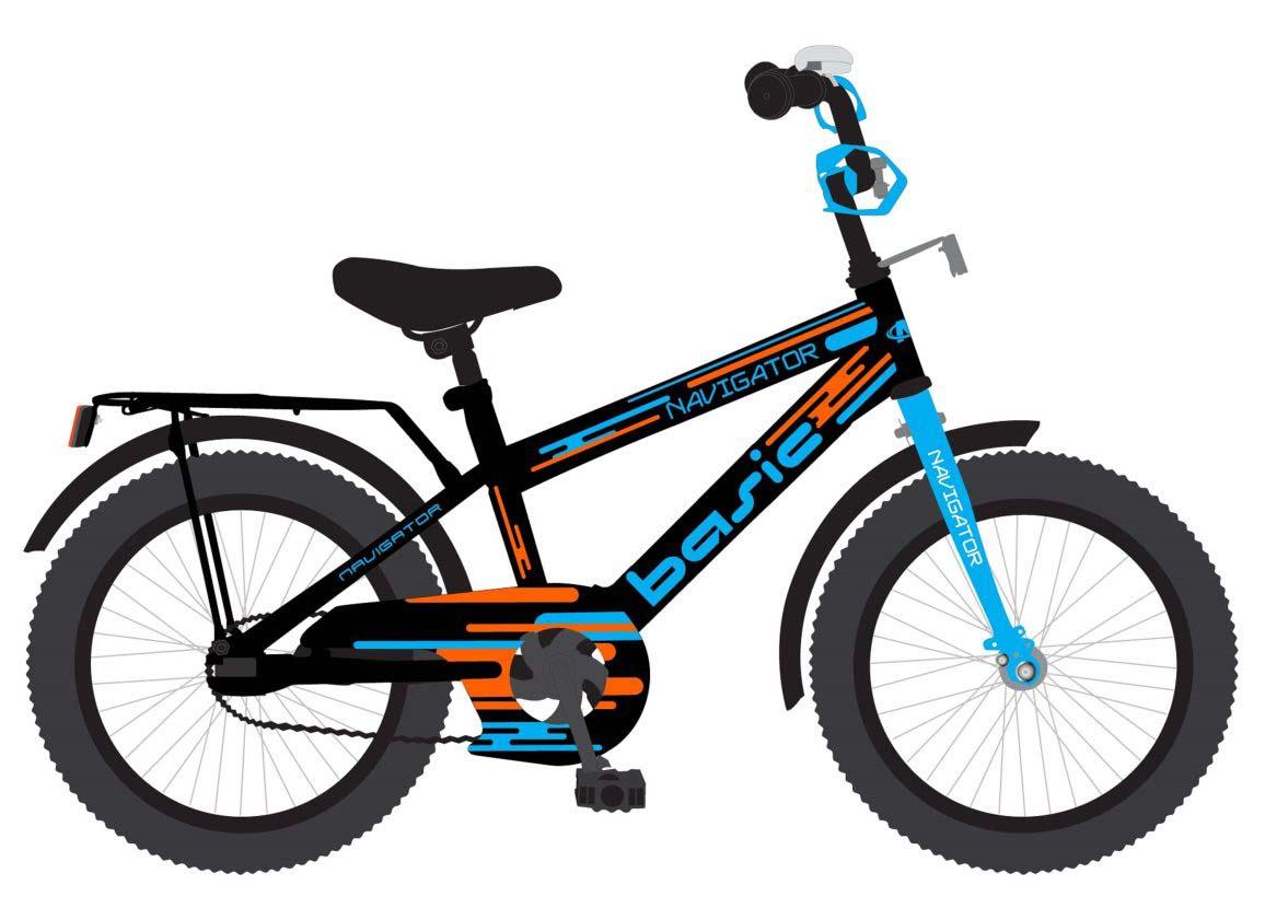 Детский велосипед – Basic, колеса 18