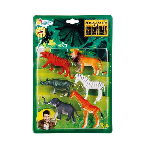 Набор из 6-и фигурок диких животныхДикая природа (Wildlife)<br>Набор из 6-и фигурок диких животных<br>