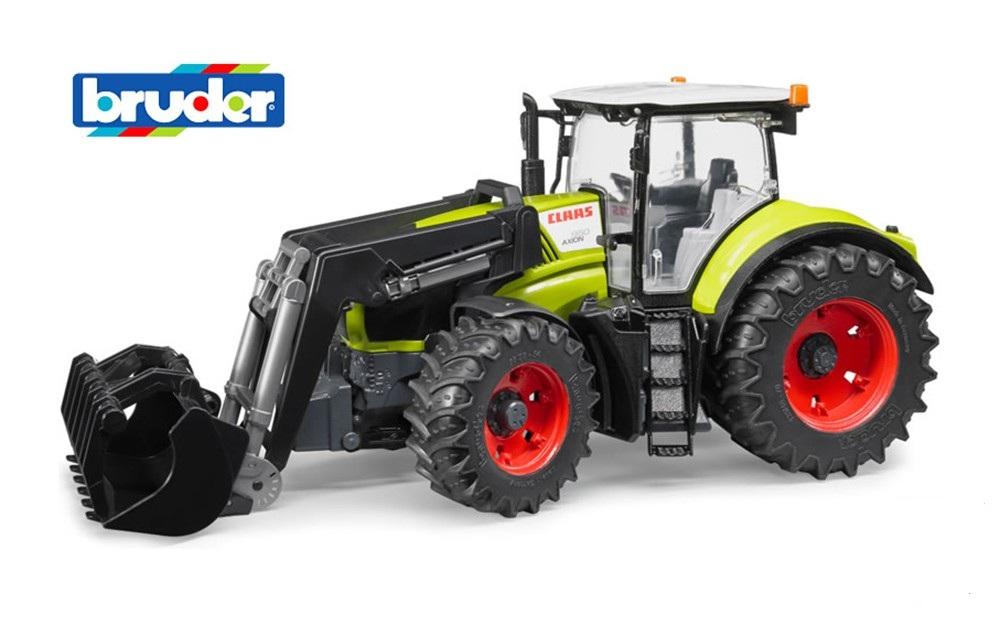 Трактор Bruder Claas Axion 950 c погрузчикомИгрушечные тракторы<br>Трактор Bruder Claas Axion 950 c погрузчиком<br>