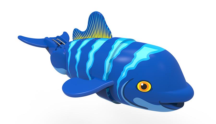 Игрушка для ванной - Санни рыбка-акробатИгрушки для ванной<br>Игрушка для ванной - Санни рыбка-акробат<br>