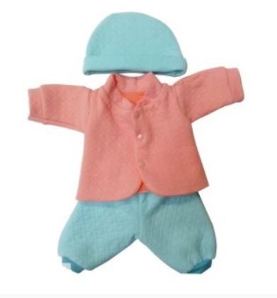 Одежда для куклы размером 38 - 43 см. - Костюм стеганый с шапочкойОдежда для кукол<br>Одежда для куклы размером 38 - 43 см. - Костюм стеганый с шапочкой<br>