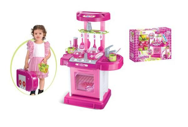 Купить Игровой набор — Кухня с аксессуарами, световые и звуковые эффекты, Shantou