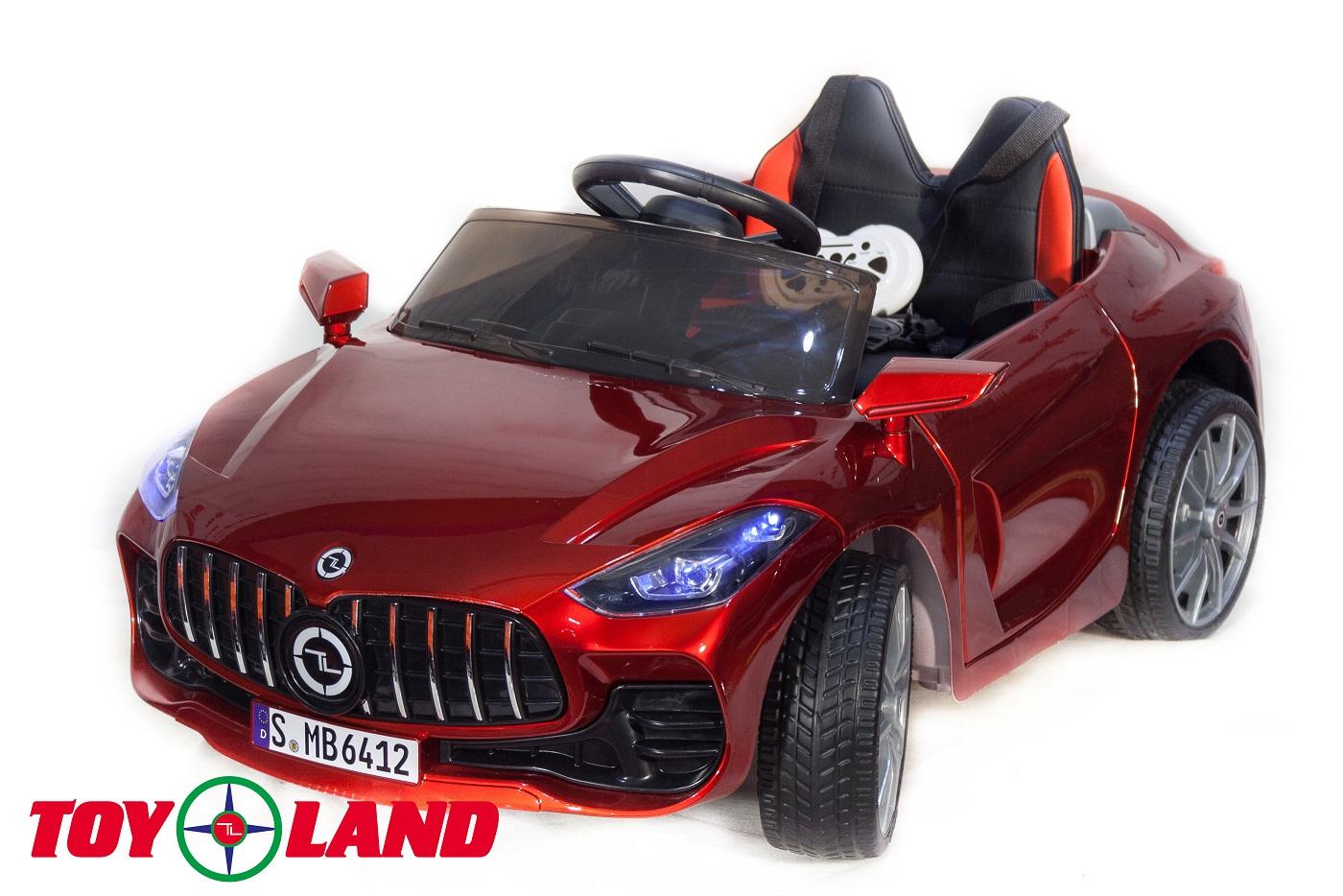 Электромобиль Mercedes Benz sport YBG6412, красный