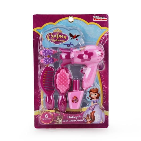 Набор аксессуаров для девочек - Принцесса София, 6 предметов Играем вместе