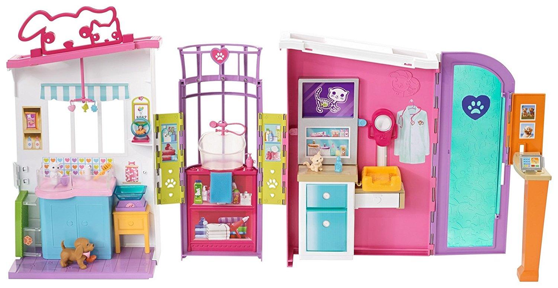 Игровой набор Barbie - Ветеринарный центрКуклы Barbie (Барби)<br>Игровой набор Barbie - Ветеринарный центр<br>