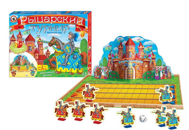 Игра-Театр - Рыцарский турнирНастольные игры для детей<br>Игра-Театр - Рыцарский турнир<br>