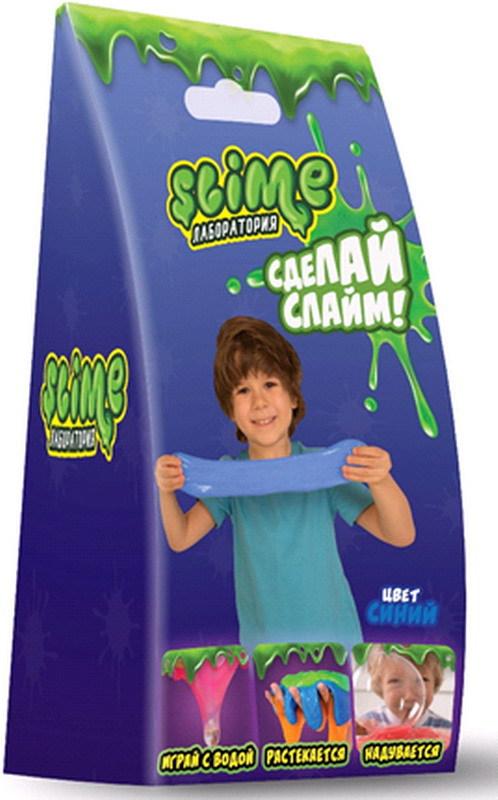 Купить Набор для мальчиков малый - Лаборатория Slime, синий, 100 грамм