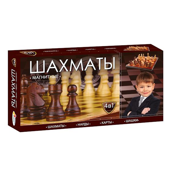 Шахматы магнитные 4-в-1