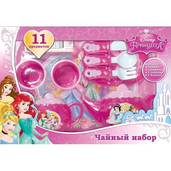 Набор посуды «Принцессы Дисней», 11 предметовАксессуары и техника для детской кухни<br>Набор посуды «Принцессы Дисней», 11 предметов<br>