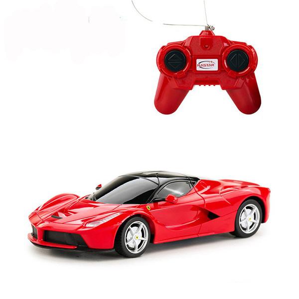 картинка Машина на р/у – Ferrari LaFerrari, 1:24, красный от магазина Bebikam.ru