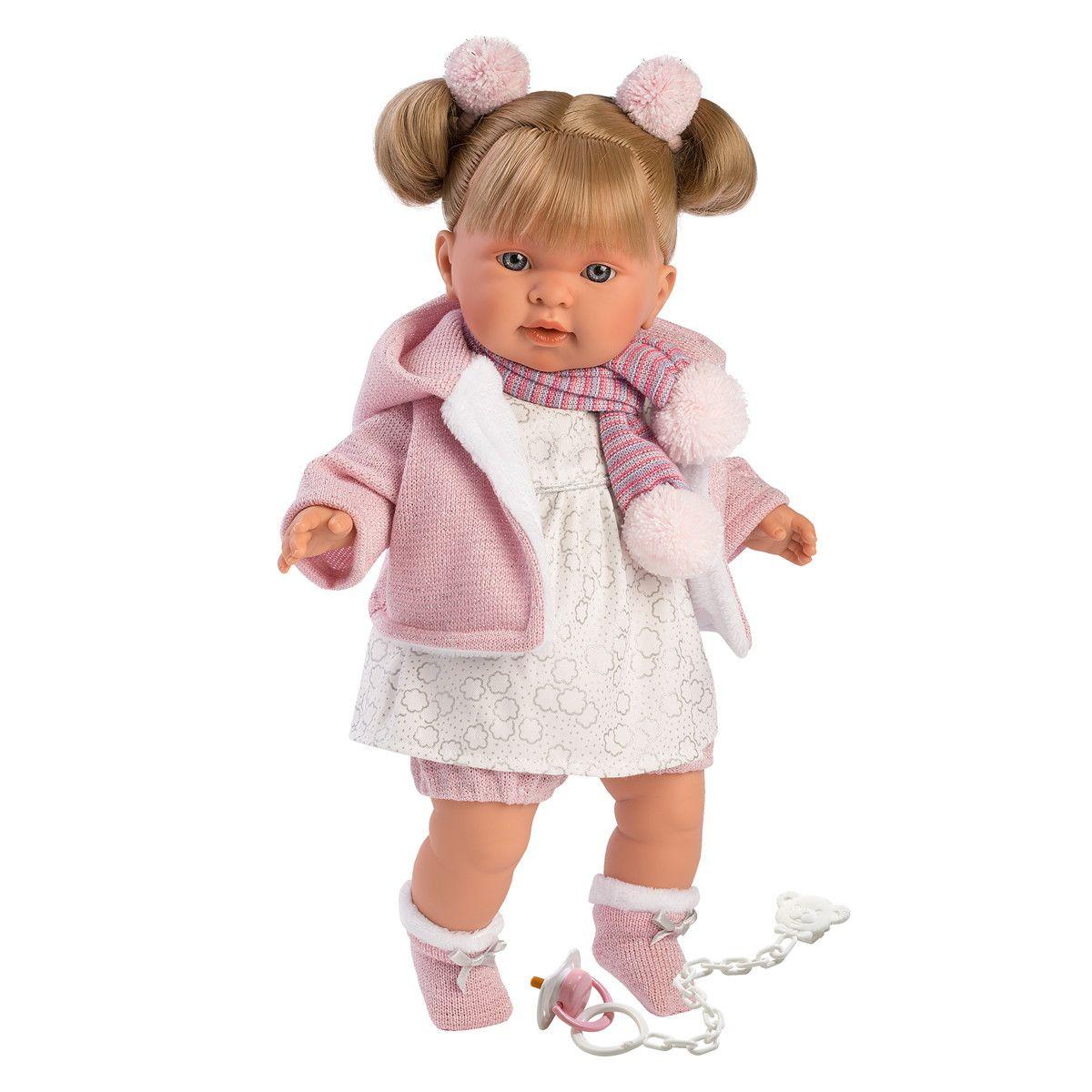 Купить Интерактивная кукла - Александра, 42 см, со звуком, Llorens Juan
