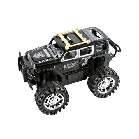 Купить Машинка Джип черный инерционный, 20 см, JUNFA TOYS