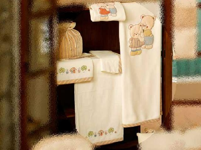 Комплект - Биба из коллекции 4 времени года: простынь для матраcа, простынь для одеяла, наволочка