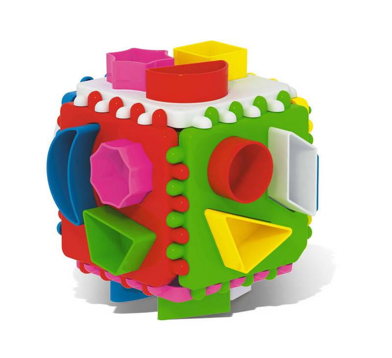 Куб логический, подарочныйСортеры, пирамидки<br>Куб логический, подарочный<br>