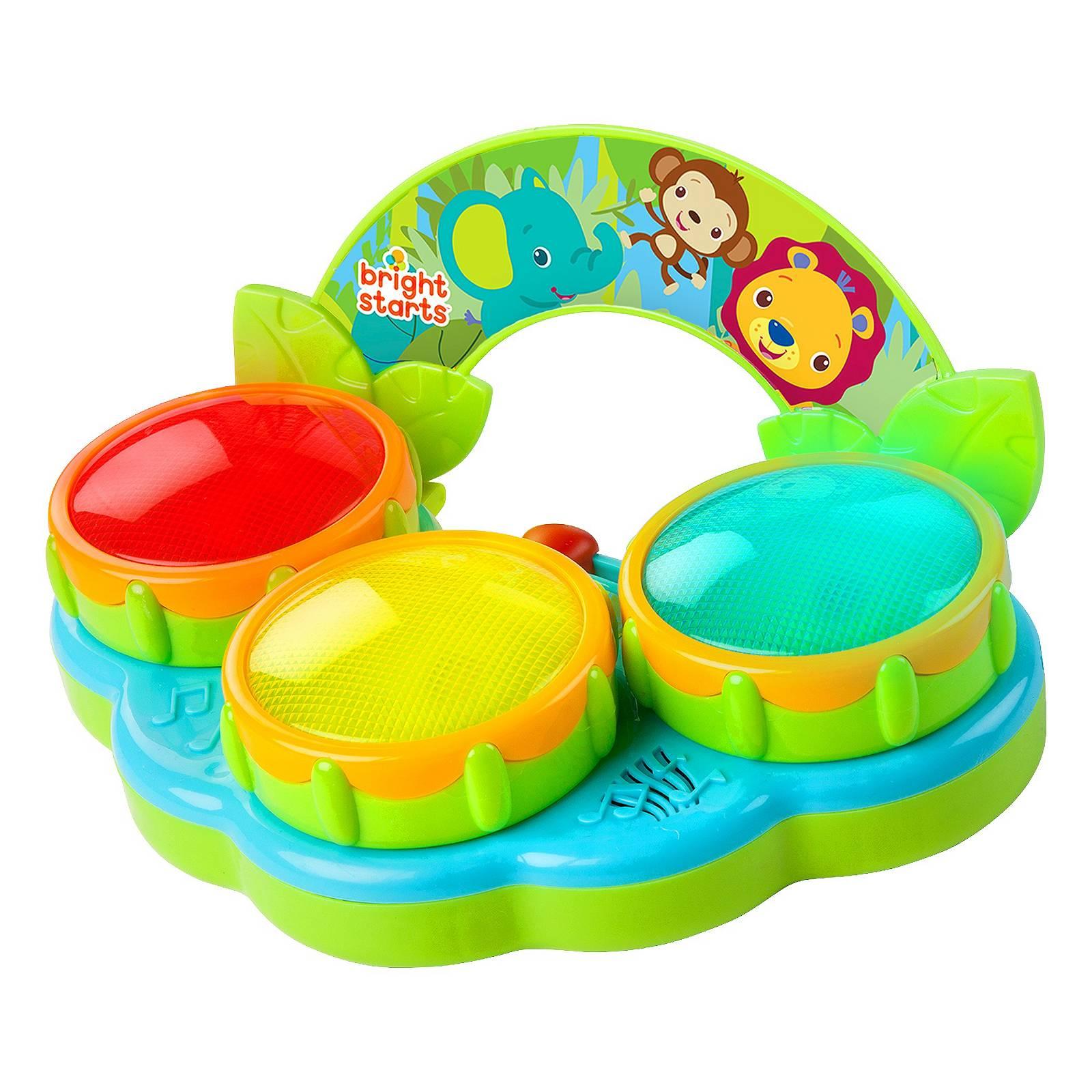 Купить Музыкальная игрушка - Барабаны Сафари, Bright Starts