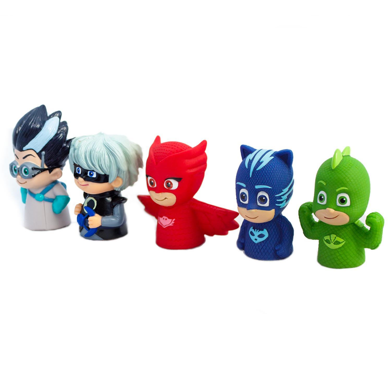 Пальчиковый театр: 5 фигурок ТМ PJ Masks, на блистереДетский кукольный театр <br>Пальчиковый театр: 5 фигурок ТМ PJ Masks, на блистере<br>