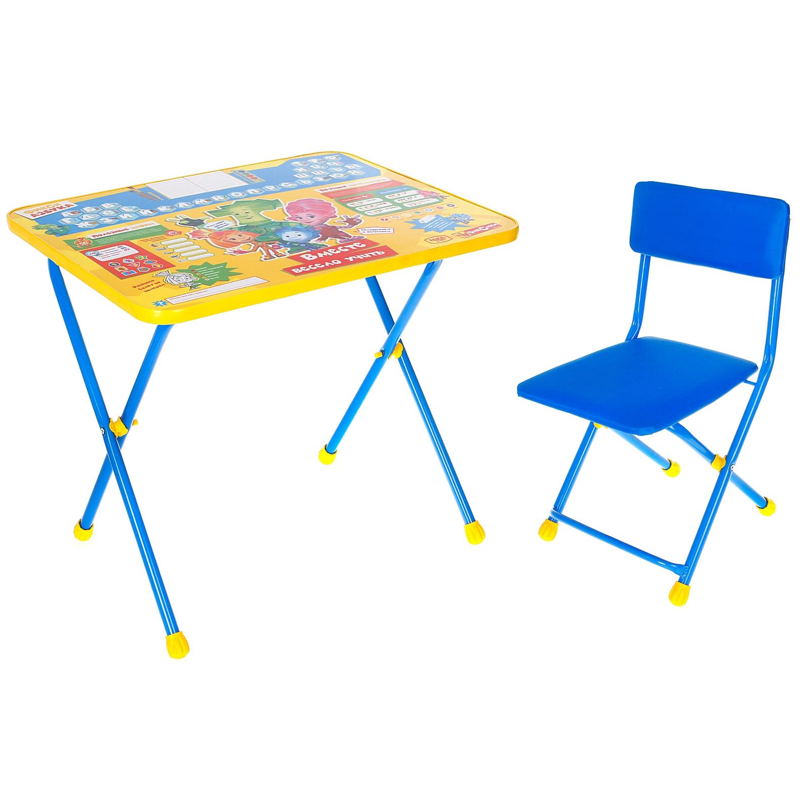 Набор детской мебели – Фиксики АзбукаДетские мольберты и парты<br>Набор детской мебели – Фиксики Азбука<br>