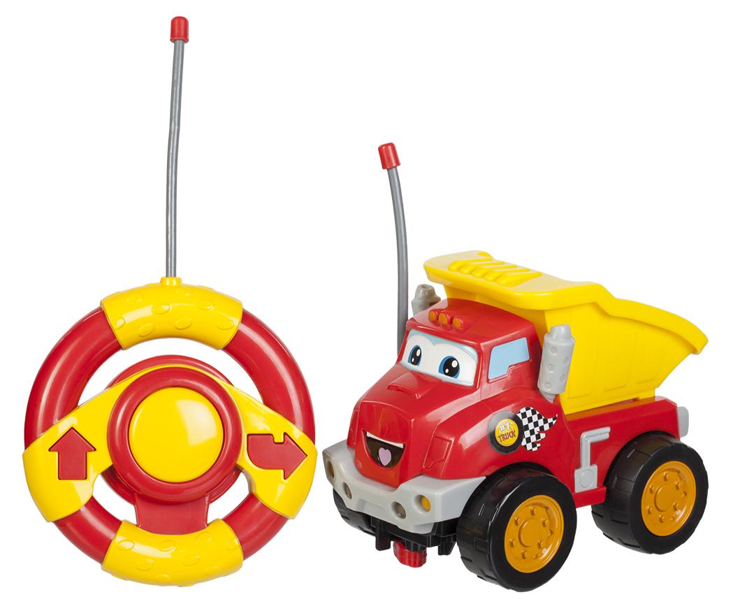 Купить Машинка и руль на р/у, свет и звук - Чак и его друзья, Jazwares