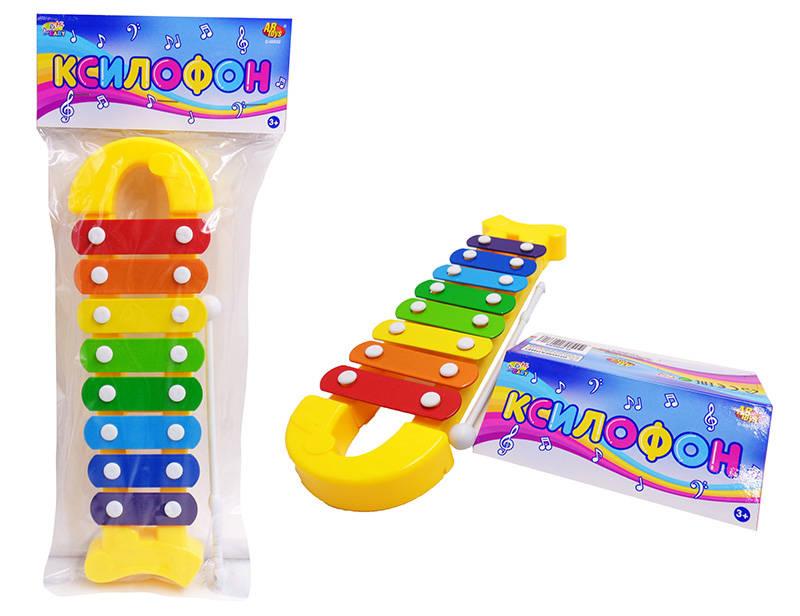 Ксилофон для малышей, 8 тоновКсилофоны<br>Ксилофон для малышей, 8 тонов<br>