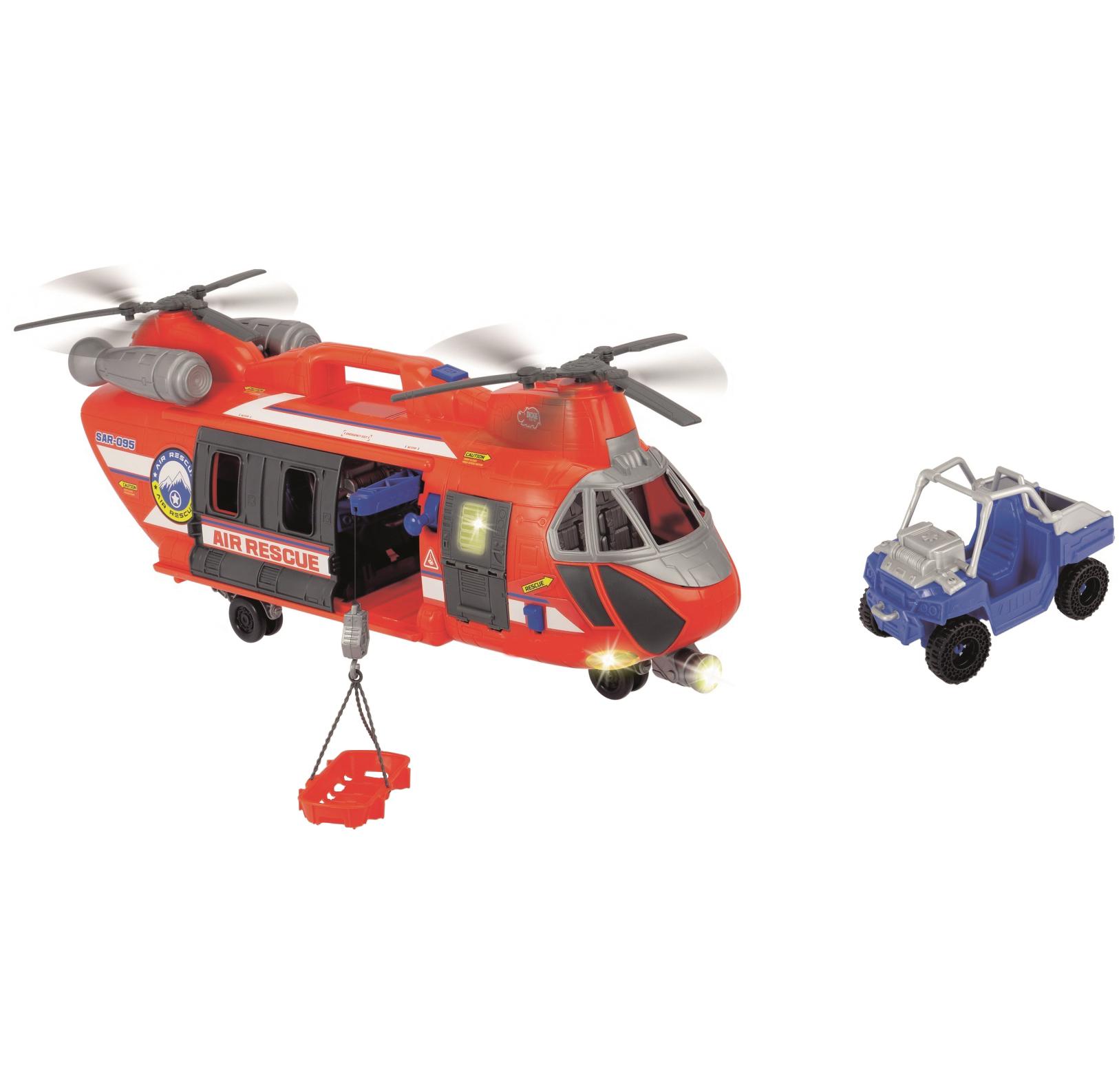 Вертолет спасателей 56 см., свет, звук и аксессуары - Пожарные машины, автобусы, вертолеты и др. техника, артикул: 167933