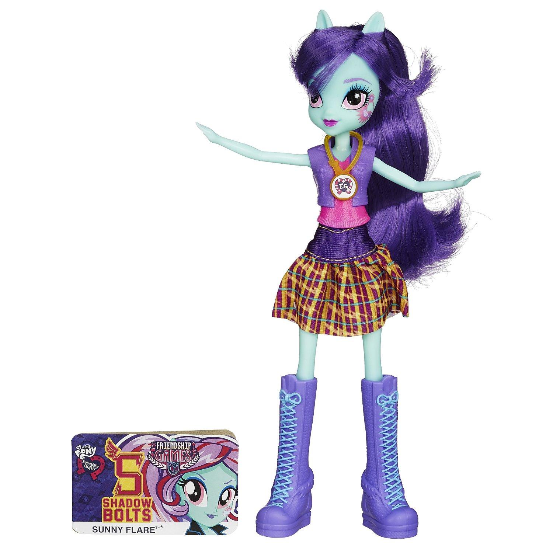 Кукла «Девушки Эквестрии» School Spirit - Санни ФлерМоя маленькая пони (My Little Pony)<br>Кукла «Девушки Эквестрии» School Spirit - Санни Флер<br>