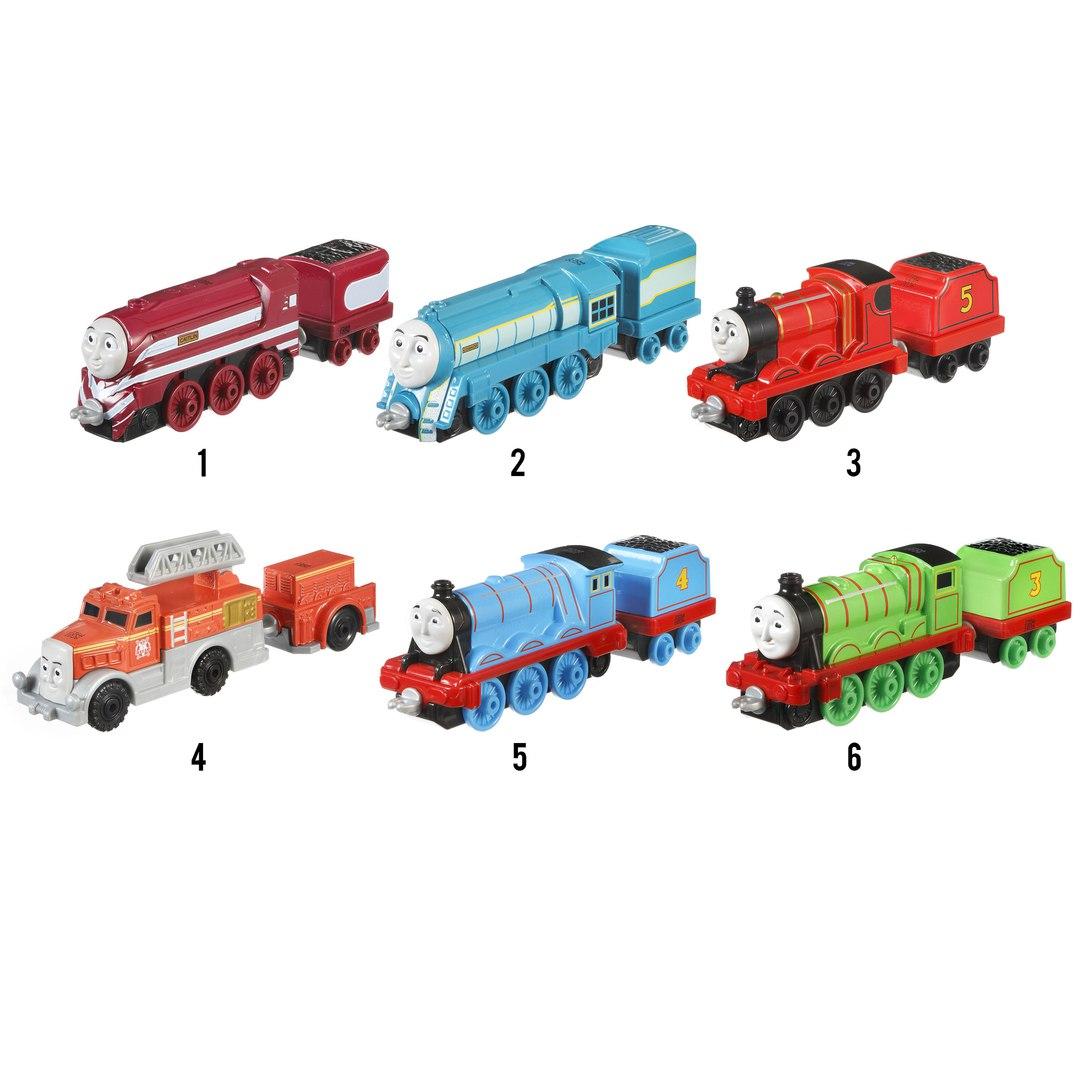 Купить Большие паровозики - Томас и его друзья, Mattel