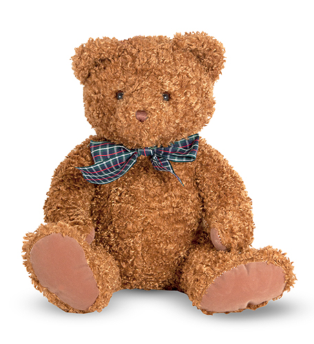 Мягкая игрушка  Маленький бурый мишка  - Медведи, артикул: 138723