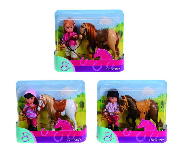 Еви с пониКуклы Еви<br>Еви с пони<br>