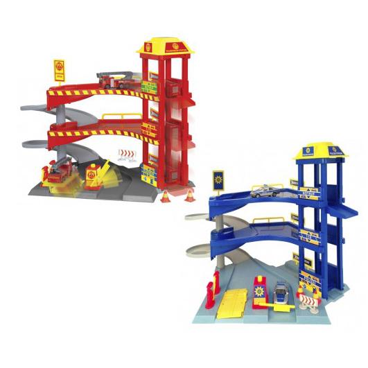 Игровой набор - Гараж с машинками, 2 видаДетские парковки и гаражи<br>Игровой набор - Гараж с машинками, 2 вида<br>