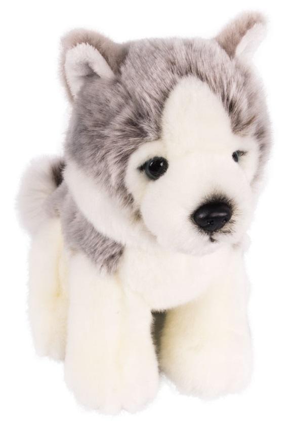 Мягкая игрушка - Щенок Хаски, 18 см.Собаки<br>Мягкая игрушка - Щенок Хаски, 18 см.<br>