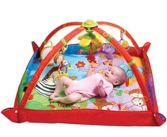 Купить Развивающий игровой коврик Maxi Разноцветное Сафари , Tiny Love