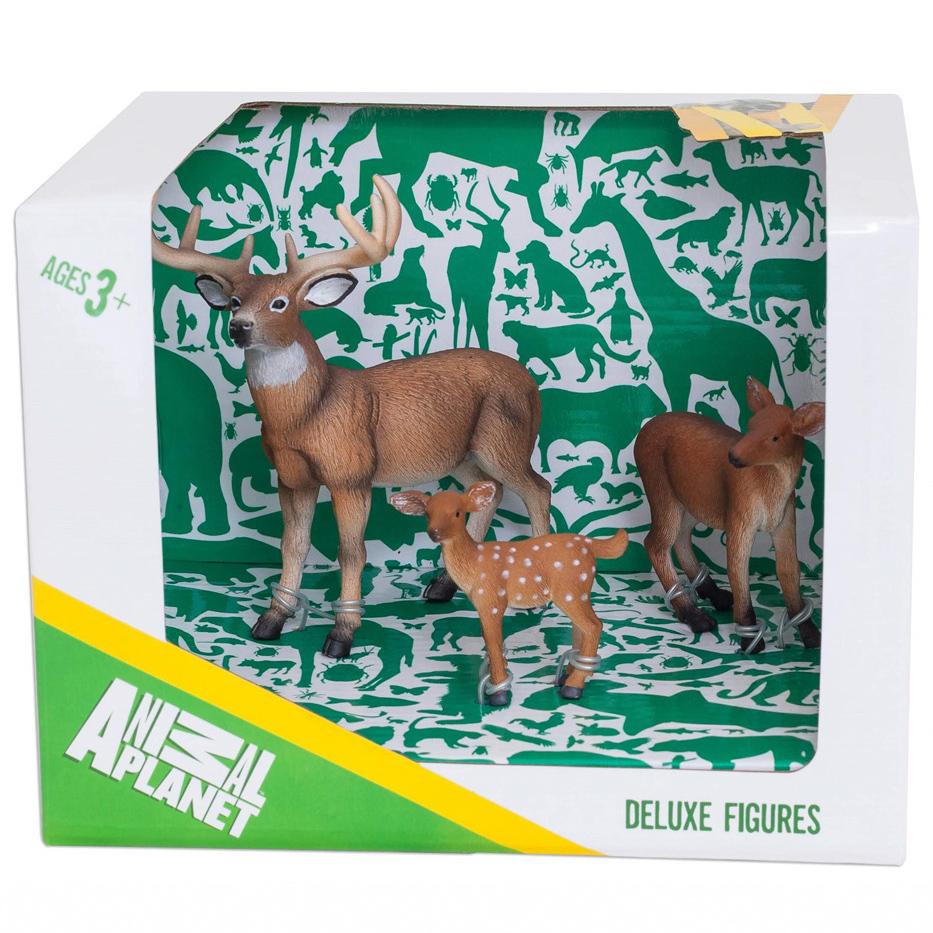 Набор Animal Planet - Оленье семейство, малыйЛесна жизнь (Woodland)<br>Набор Animal Planet - Оленье семейство, малый<br>