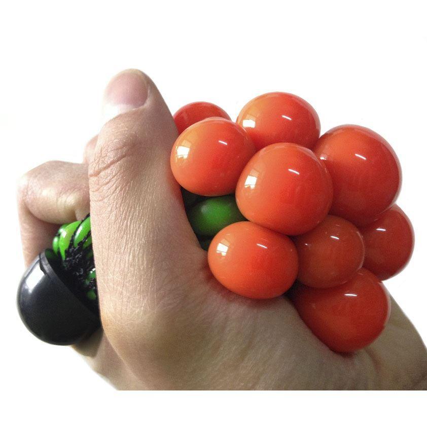 Стрессбол Жмяка зелено-красныйЖвачка для рук<br>Стрессбол Жмяка зелено-красный<br>