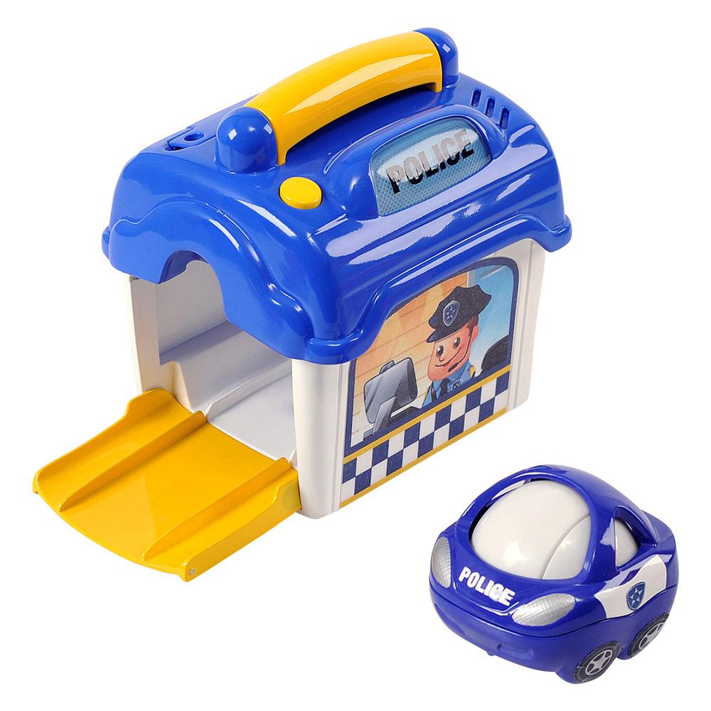 Игровой набор - Полицейский участок с машинкойМашинки для малышей<br>Игровой набор - Полицейский участок с машинкой<br>