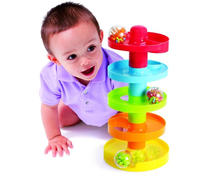 Развивающий центр - Лабиринт с мячикомРазвивающие игрушки PlayGo<br>Развивающий центр - Лабиринт с мячиком<br>