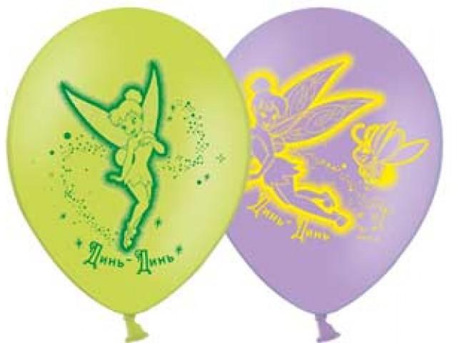 Набор шариков с рисунком Disney ФеиВоздушные шары<br>Набор шариков с рисунком Disney Феи<br>