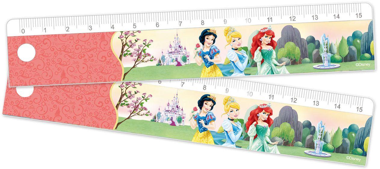 Линейка-закладка 15см Disney «Принцессы»Ножницы, линейки, ластики<br>Линейка-закладка 15см Disney «Принцессы»<br>