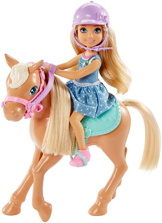 Игровой набор Семья Barbie - Челси с пониКуклы Barbie (Барби)<br>Игровой набор Семья Barbie - Челси с пони<br>