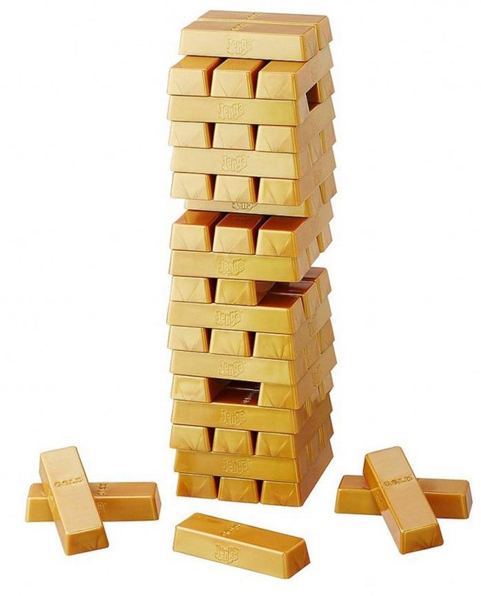 Настольная игра - Дженга ГолдДженга<br>Настольная игра - Дженга Голд<br>