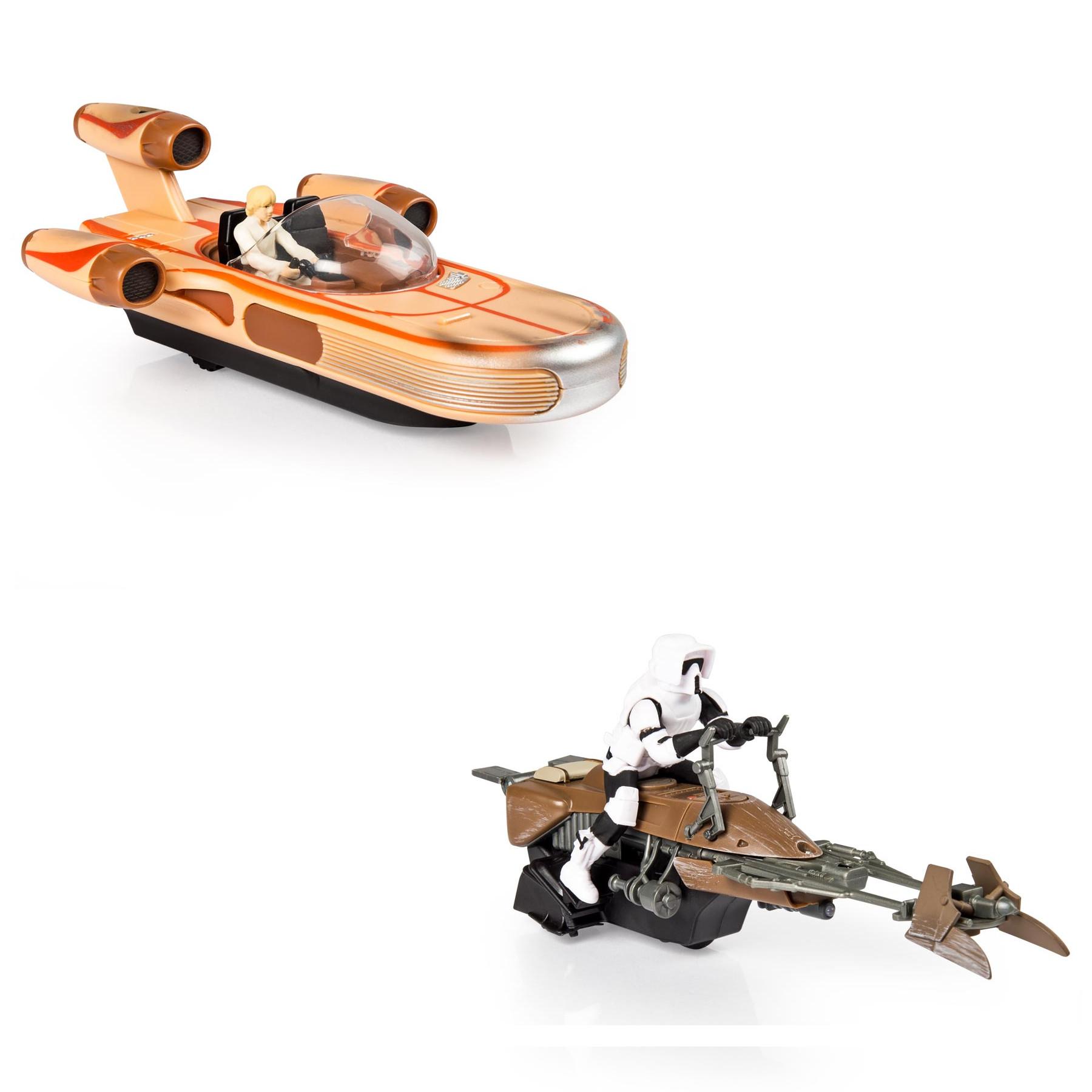 Скоростной байк из серии «Air Hogs Звёздные войны»Игрушки Star Wars (Звездные воины)<br>Скоростной байк из серии «Air Hogs Звёздные войны»<br>