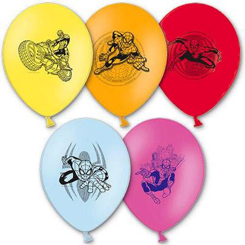 Набор шаров – Marvel Человек Паук, 5 шт. по 30 см.Человек Паук<br>Набор шаров – Marvel Человек Паук, 5 шт. по 30 см.<br>