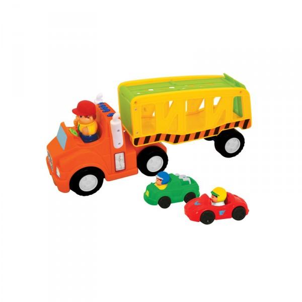 Развивающая игрушка - АвтоперевозчикРазвивающие игрушки KIDDIELAND<br>Развивающая игрушка - Автоперевозчик<br>